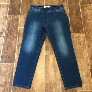 SOFT SURROUNDINGS Pull-on JEANS LP Large Petite